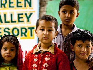 Adopce na dálku je projektem na pomoc indickým dětem.