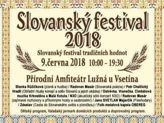 Slovanský festival 2018 v Lužné u Vsetína