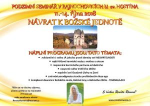 Podzimní seminář v Rajnochovicích