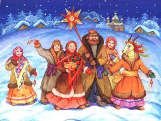 Zimní Slunovrat, svátek Koljada